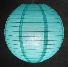 "12"" OASIS BLUE Paper Lanterns"