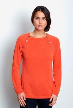 #Jersey #lactancia LEA  de #suave #lana y #viscosa. En precioso color #naranja. Es un jersey de lactancia de nuestra marca sueca favorita, que te encantará por su #calidez y excelente #calidad. Impecable. Descúbrela en: www.tetatet.es Envíos internacionales #nursing #comfortable #elegant #breastfeed #Soft #wool #warm excellent #quality Find out at: www.tetatet.es International deliveries