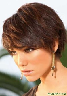 trendy short haircuts for women 2014 | StyleSN