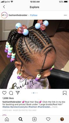 Kids Cornrow Hairstyles, Children Hairstyles, Lil Girl Hairstyles, Nice Hairstyles, Kid Braids, Little Girl Braids, Braids For Kids, Little Girls Natural Hairstyles, Cute Toddler Hairstyles