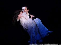Phantom of the Opera - Erik x Christine. THE WAY HE HOLDS HER, OH MY GOD!! <3