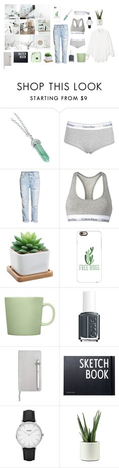 """""""Untitled #1050"""" by equestrianartist ❤ liked on Polyvore featuring Calvin Klein, Casetify, iittala, Essie, ICE London, Design Letters, CLUSE and S'well"""