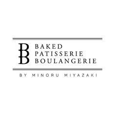 Baked Patisserie Boulangerie Logo