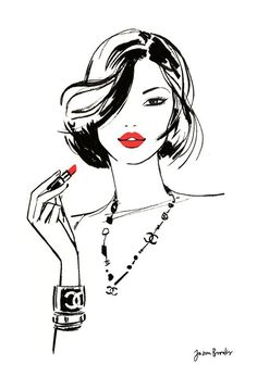Folio illustration agency, London, UK | Jason Brooks - Fashion ∙ Glamour ∙…