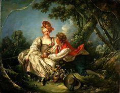 The Four Seasons 3, Autumn - François Boucher - 1755