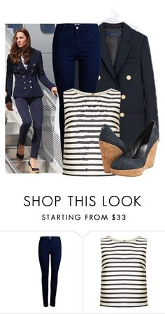 """kate middleton"" by streetstyle80 ❤ liked on Polyvore featuring ONLY, Topshop and Stuart Weitzman"