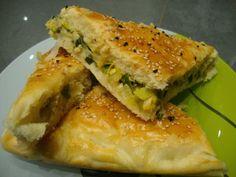 La cuisine de mon pays ... la Turquie: Börek aux Poireaux
