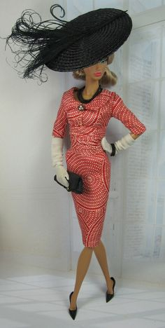 Shanghai Red for Silkstone Barbie and Victoire Roux on Etsy now.