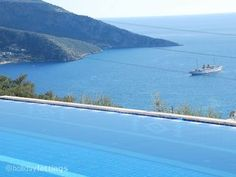 Holiday apartment with shared pool in Kalkan - shared pool, walking, beach/lake nearby, balcony/terrace, air con, internet access, DVD