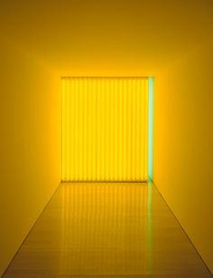 "Dan Flavin, ""Untitled (To Jan and Ron Greenberg)"
