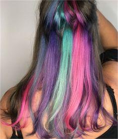 Peek-a-boo Unicorn Color - Hair Color - Modern Salon