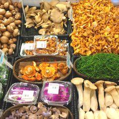 Mushrooms at Atwater Market Montreal