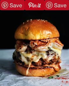The 66 Most Delish Burger Recipes PopularsCondiments 1 Bbq sauce Baking & Spices 1 Salt Dairy 1 Butter Other 3 Tbsp Cheddar Cheese (Shredded and set out to come to room temperature)