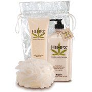 Supre Bath & Body Kit 3 Count Jasmine Peach & Wild Rose by moisturizer. $20.50. Supre Hempz Bath & Body Kit includes: Jasmine Peach & Wild Rose body wash 9oz, 18oz Hempz Herbal Moisyurizer and Puff