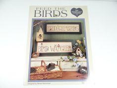 Feed the Birds  Bird Watcher  Cross Stitch by SecondWindShop