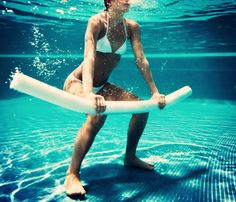 Water provides natural resistance against your body - Aquatic Exercises