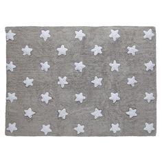 Dywan grey , star white