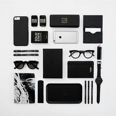 Flat lay by the Talented TWOPNTBLK creatives