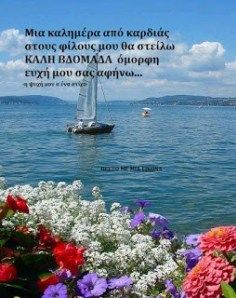 Beautiful Pink Roses, Greek Quotes, Good Morning Quotes, Spirituality, Outdoor, Decor, Good Morning, Outdoors, Decoration