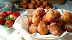 Buñuelos de patata dulces