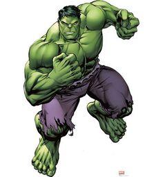 Hulk Life-Size Cardboard Cutout - Avengers