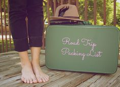 Road trip packing list!