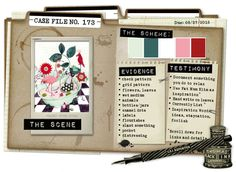 Case File No. 173 {Case closes on August 27, 2014} - CSI: Color, Stories, Inspiration