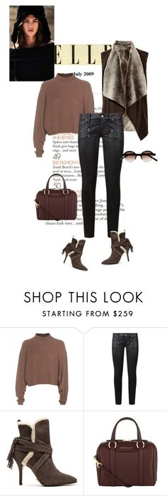 """#lookoftheday"" by ketp on Polyvore featuring мода, Acne Studios, Paige Denim, Schutz, Burberry, Marni, StreetStyle и lookoftheday"