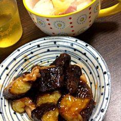 今日のおかず(  `   ´ )* - 3件のもぐもぐ - 茄子の甘酢炒め煮 & 塩ポトフ by yah