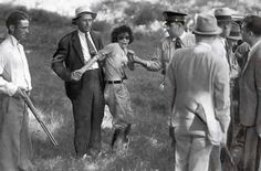 Blanche Barrow, part of the Bonnie and Clyde gang. Time of capture. 1933