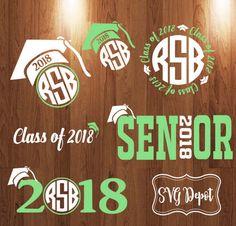 Seniors Class of 2018 Svg group digital file tshirt svg