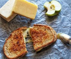When the season turns to Fall, I want apples. What better way to introduce an apple into a meal, but into a savory, slightly spicy, grilled cheese sandwich! Tasty, Yummy Food, Spicy, French Toast, Grilling, Sandwiches, Cheese, Meals, Breakfast