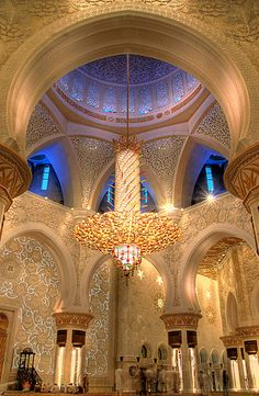 Sheikh Zayed Mosque.