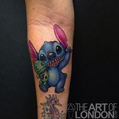 disneyink - londonreese: Small one on Jody. We talked about...