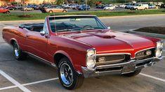 1967 Pontiac GTO!!! (Same as my High School car, except it was a Hardtop.)