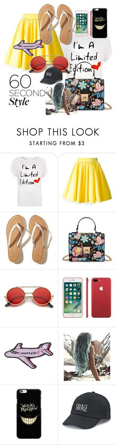 """""""60 Second Style"""" by itspartytime ❤ liked on Polyvore featuring WearAll, Philipp Plein, Hollister Co., Stoney Clover Lane, SO, asymmetricskirts, 60secondstyle and plus size clothing"""