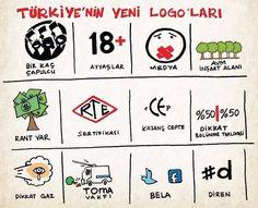 Taksim Gezi Parkı direniş logoları :)
