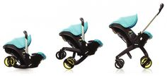 Meet Doona, The Foldable Car Seat That Turns Into A Stroller ...