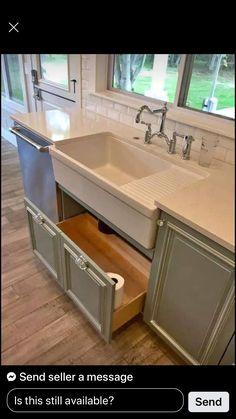 Diy Kitchen Cabinets, Home Remodeling, Home Kitchens, Farmhouse Kitchen Design, Diy Kitchen, Kitchen Style, Kitchen Renovation, Kitchen Cabinets Makeover, Kitchen Design