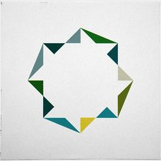 geometry daily -- a wonderful source of inspiration for modern quilt designs