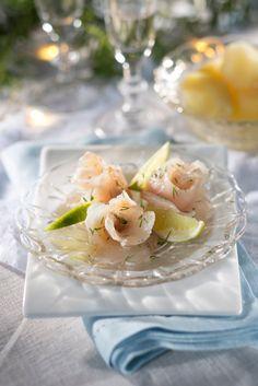 Graavisiika | K-ruoka #joulu Koti, Christmas Kitchen, Fish And Seafood, Seafood Recipes, Candies, Finland, Waiting, Appetizers, Traditional
