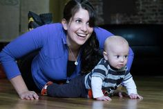 Mom and Baby Exercises - 5 exercises to do at home with your baby