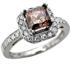 I like the chocolate diamond vintage rings