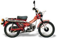 Honda hunter cub