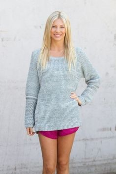 SHAKUHACHI - OVERSIZED KNIT, $80.00 by The Label Boutique
