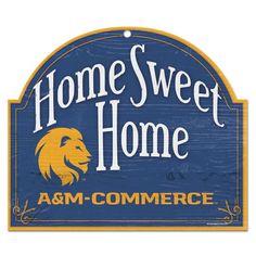 Texas A/&M Commerce Lions Wordmark Car Flag