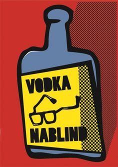 Vodka NABLIND Vodka O, Posters, Poster, Billboard