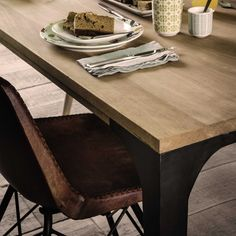 Solid mango wood dining table L180 Metropolis | Maisons du Monde Mango Wood Dining Table, Affordable Furniture, Office, Tables, Home Decor, Wood Table Tops, Living Spaces, Dining Table, Mesas