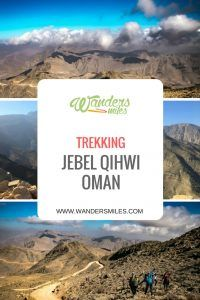 Read about a one day trek up the rocky Jebel Qihwi in the Hajar mountains, Oman, followed by dinner on the dhow boat.