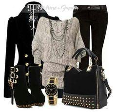 Me encanta este outfit..